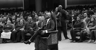 Dr. Jamal Bryant was sworn in Sunday as Pastor of New Birth Missionary Baptist Church in metro Atlanta
