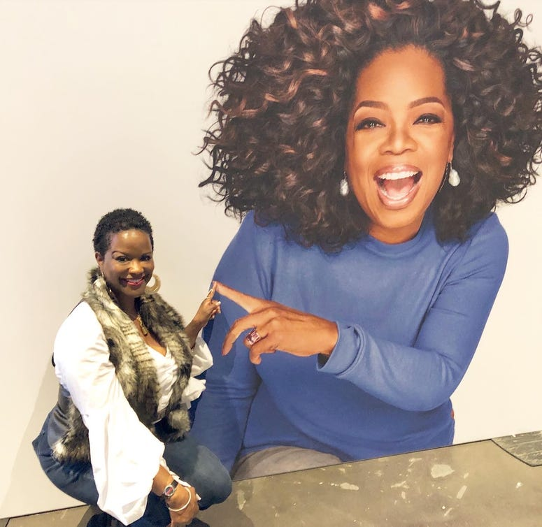 WAOK's Amanda Cooper at Oprah's 2020 Vision: Your Life in Focus Tour Presented by WW-4