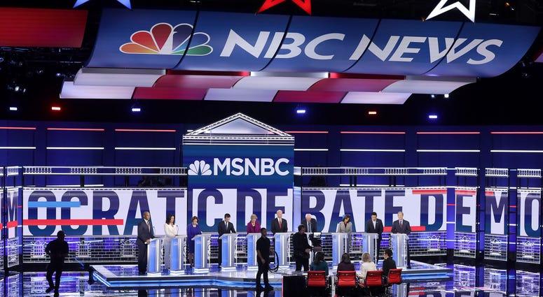 Democratic presidential candidates in Atlanta