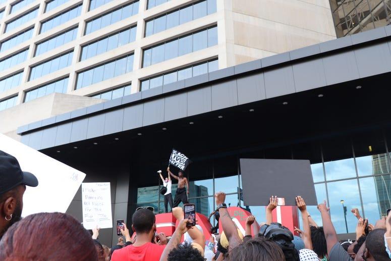 George Floyd ATL Protest