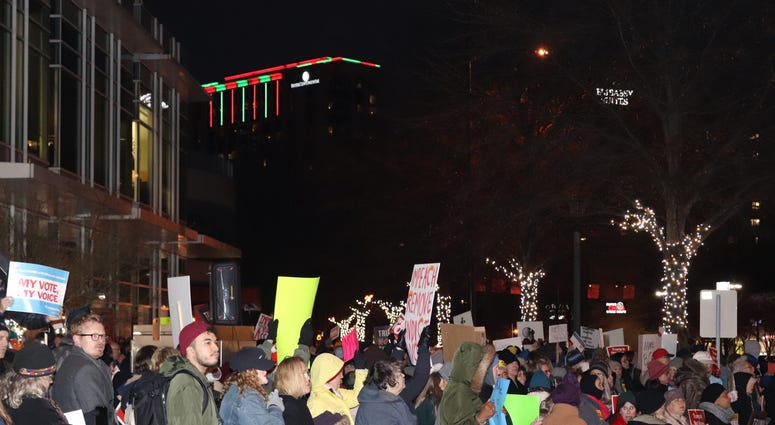 Atlanta Impeachment Protest-11