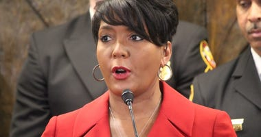 Atlanta Mayor Keisha Lance Bottoms says we have to stay at home to save lives during the coronavirus pandemic.