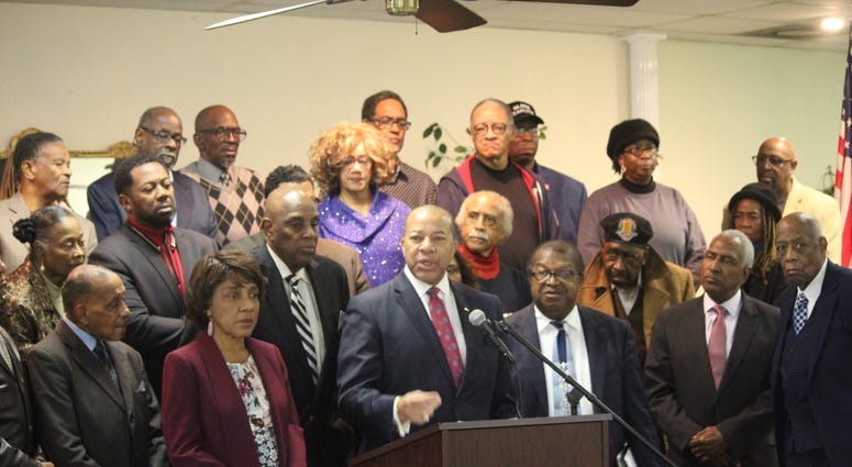 Press Conference regarding the Fulton County Commission stopping federal funding in South Fulton-10