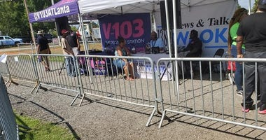Derrick Boazman Broadcasting live from Wednesday Wind Down