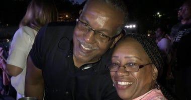 Programming Asst. Brenda Yelling with Husband Alonzo