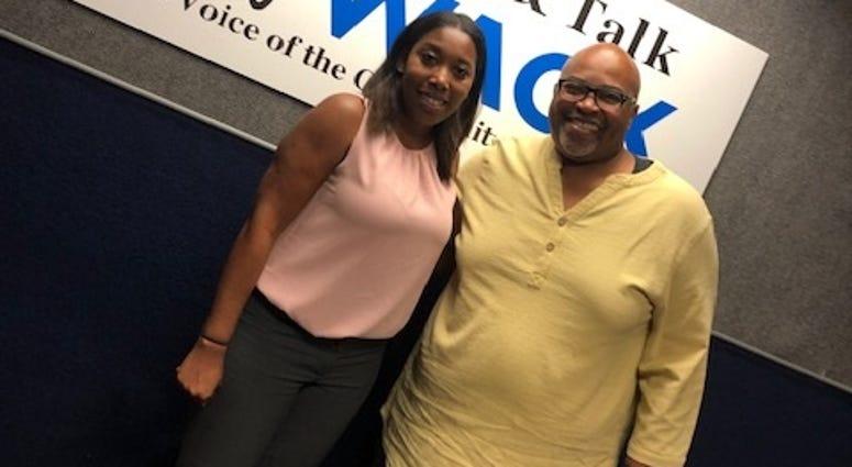 Derrick Boazman with Kena Searcy