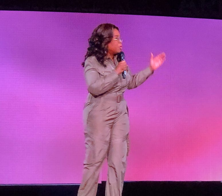 Oprah's 2020 Vision: Your Life in Focus Tour Presented by WW-9