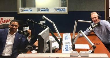 Rashad Richey with Dr. John Lipman on Real Talk