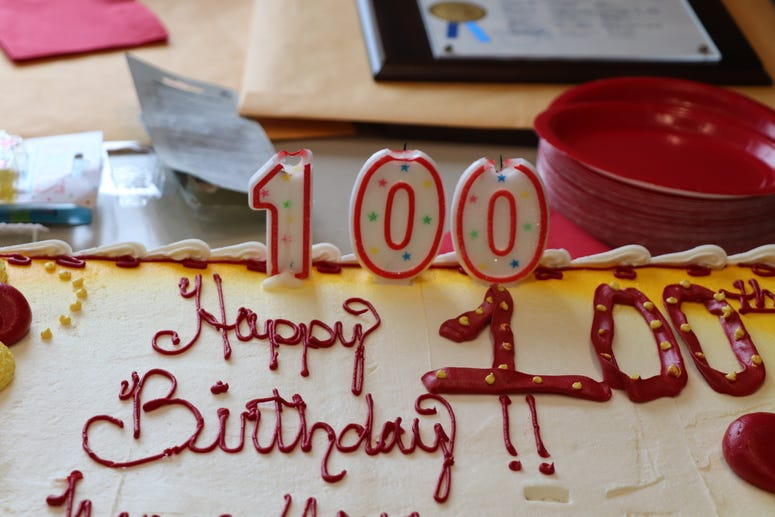 William T. Robie celebrates his 100th birthday-3
