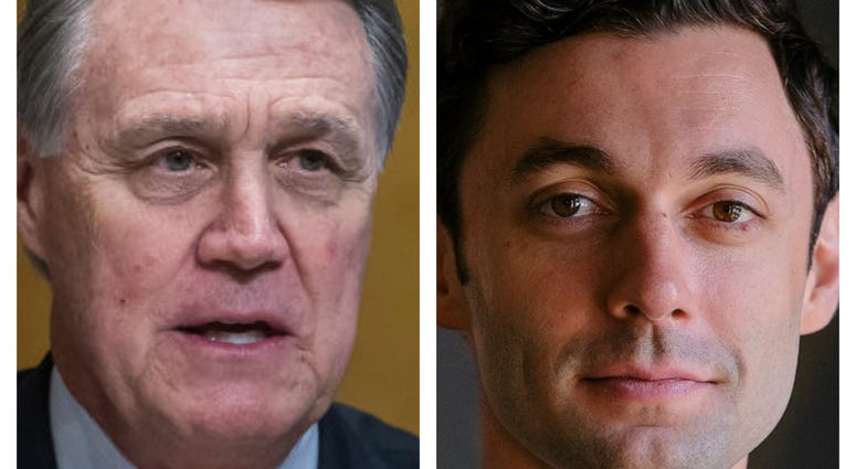 "Republican Senator David Perdue is accused of running an ""anti-semitic"" ad about opponent Jon Ossoff"