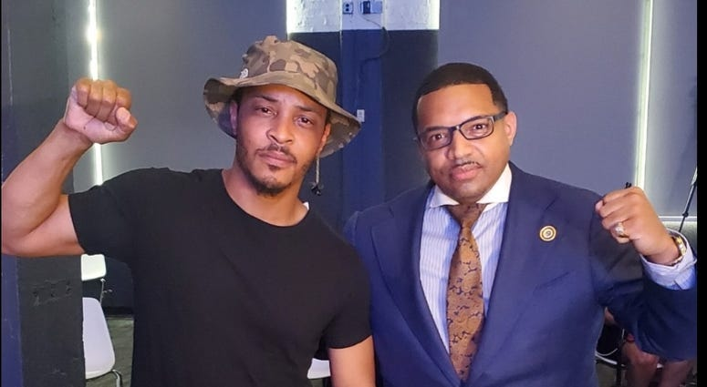 Dr. Rashad Richey and TI