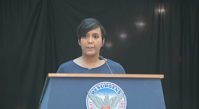 Atlanta Mayor Keisha Lance Bottoms is rolling back the city to Phase I of the pandemic reopening plan.