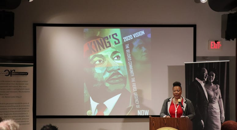 The King Center Press Conference for 34th Anniversary of King Holiday-1