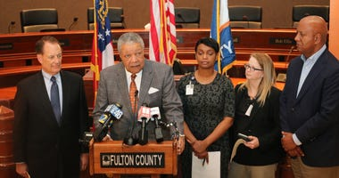 Fulton County leaders announce how the county will operate regarding COVID-19