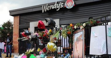 Rayshard Brooks Memorial at Wendy's