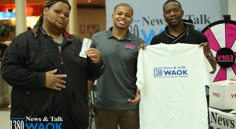 1380 WAOK's Network Mixer at Northlake Mall