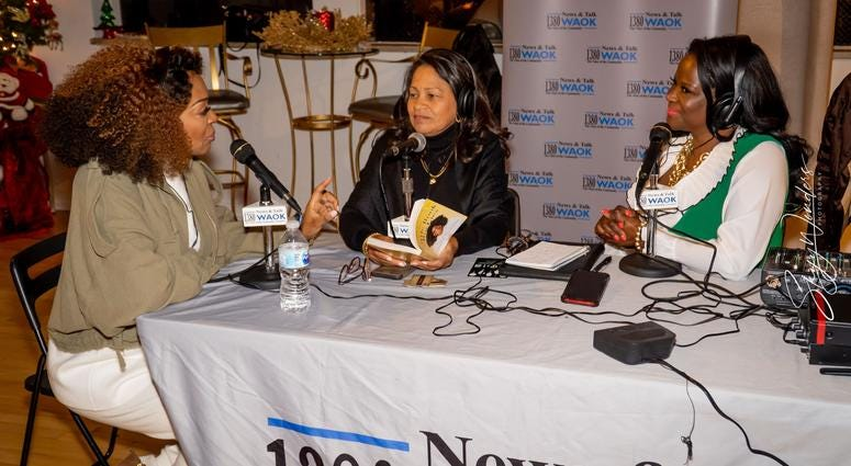 """Magical Holiday Monday"" with Tina Lifford, Aunt Vi of Queen Sugar and News and Talk 1380 WAOK/RADIO.COM-3"