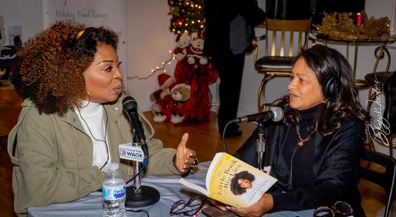 """Magical Holiday Monday"" with Tina Lifford, Aunt Vi of Queen Sugar and News and Talk 1380 WAOK/RADIO.COM-4"