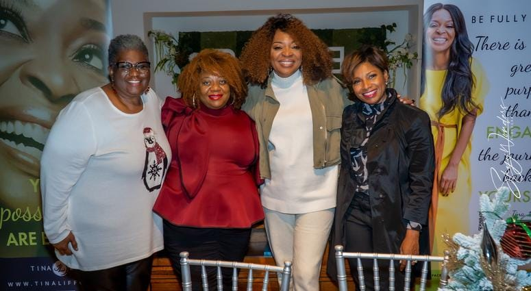 """Magical Holiday Monday"" with Tina Lifford, Aunt Vi of Queen Sugar and News and Talk 1380 WAOK/RADIO.COM-17"