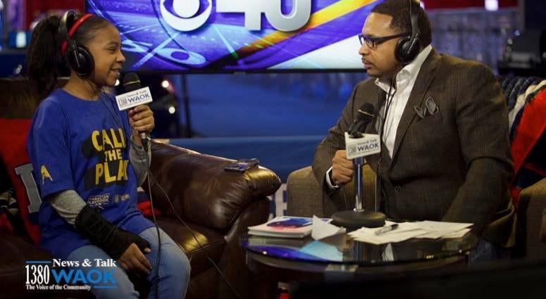 Rashad live at Super Bowl LIII