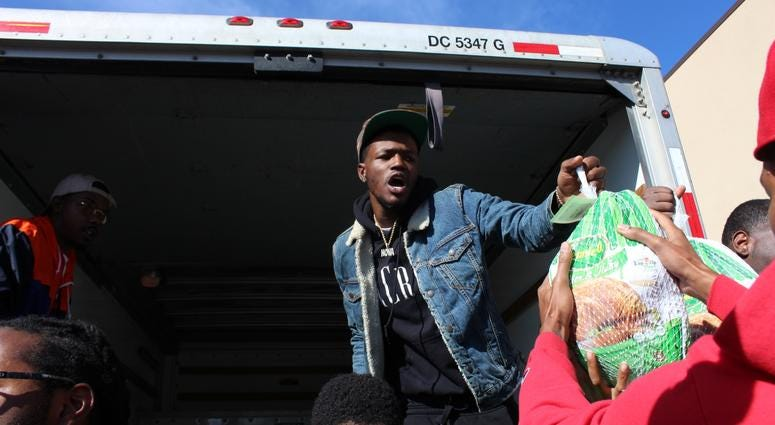 DC Young Fly & The Community Crew Gives Back for Thanksgiving.