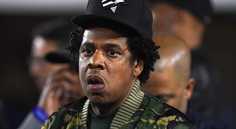 Rapper JAY-Z at LA Rams vs Kansas City Chiefs