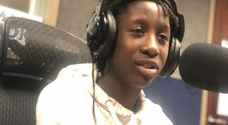 12 Year old Nana Adwoa Agyemang on Too Much Truth