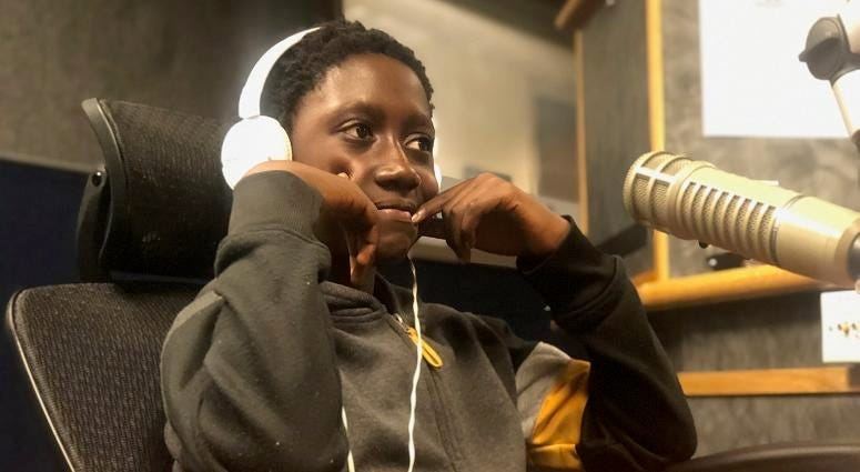 9 Year Old Kofi Boakye Agyemang on Too Much Truth
