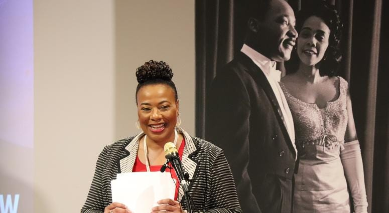 The King Center Press Conference for 34th Anniversary of King Holiday-11