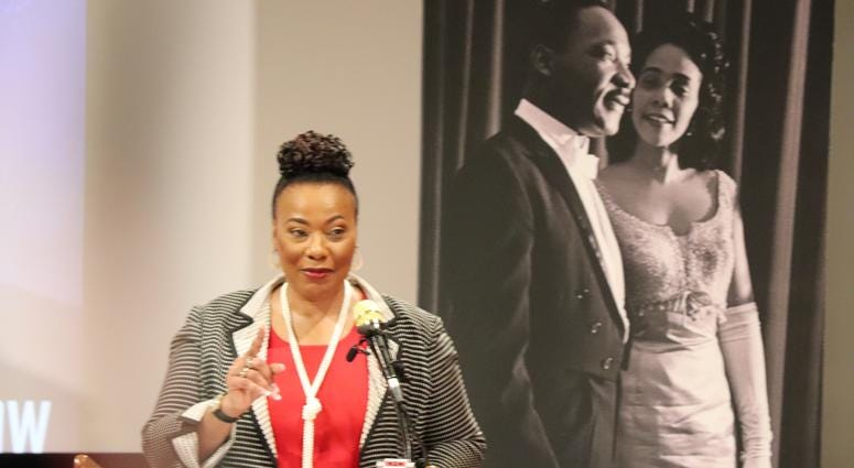 The King Center Press Conference for 34th Anniversary of King Holiday-12