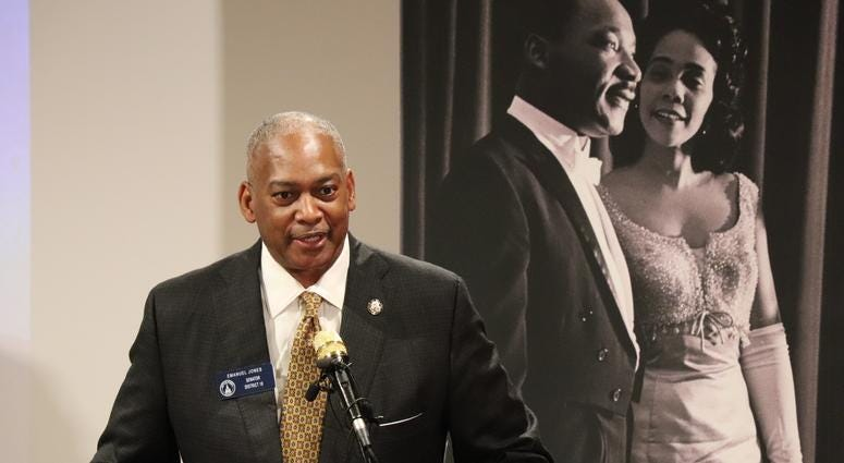 The King Center Press Conference for 34th Anniversary of King Holiday-13