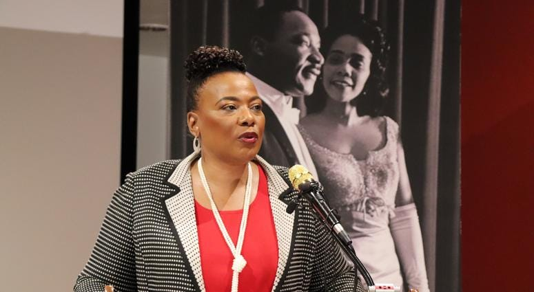 The King Center Press Conference for 34th Anniversary of King Holiday-6