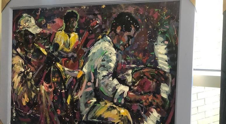Artist Gilbert Young Piece