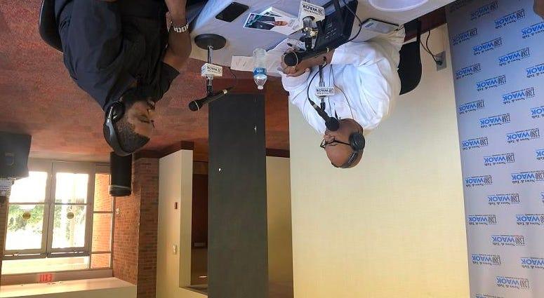 Derrick Boazman with Film Producer Derrick Doose