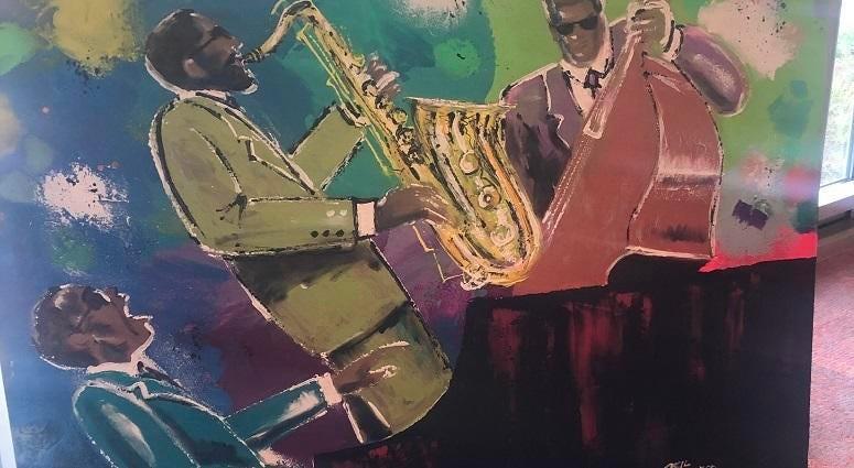 Artist Cecil Bernard Piece