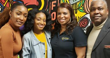 Supporting Young Women in STEM Research Gets Highlighted on 'The G.I.S.T.'