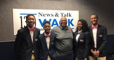 Derrick Boazman with Harvard Diversity Project Debate Team 7/17/19