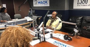 Derrick Boazman with Poprah in Atlanta, GA