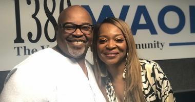 Derrick Boazman with Tina Lifford
