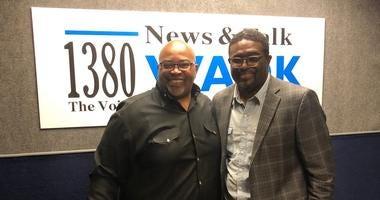 "Derrick Boazman with Charles ""Champ"" Walker"