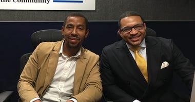 Dr. Rashad Richey and Omar Ali