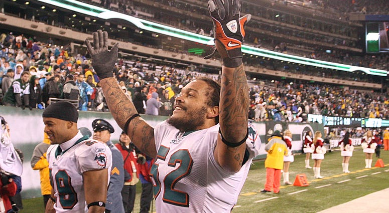 Channing Crowder Dolphins Picture
