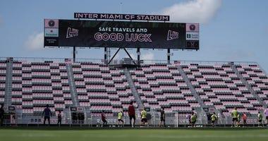 Good Luck scoreboard before MLS is back tournament