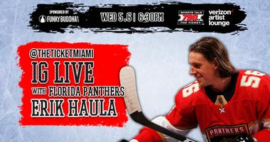 IG Live with Erik Haula