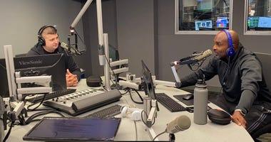 Tobin and Leroy in studio 2