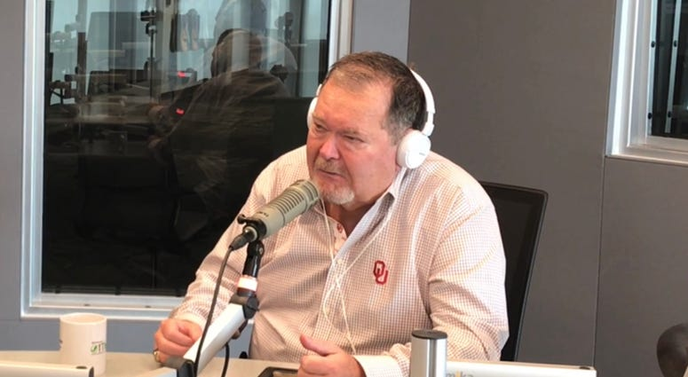 Jim Ross with Tobin and Leroy