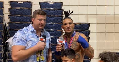 Uly Diaz post fight
