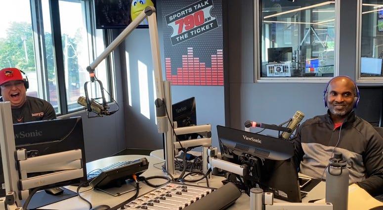 Tobin Leroy in studio