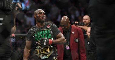 Usman defends the title