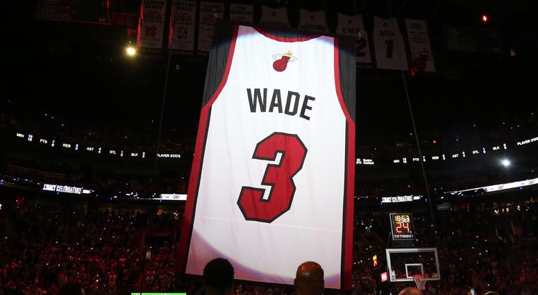 Wade Jersey Retired